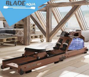 Test et avis sur le rameur pour grand gabarit Bluefin Fitness Blade Aqua W-1