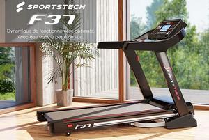 Test et avis sur le tapis de course pour usage régulier Sportstech F37