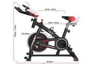 Avis vélo d'appartement ergomètre ISE SY-7802